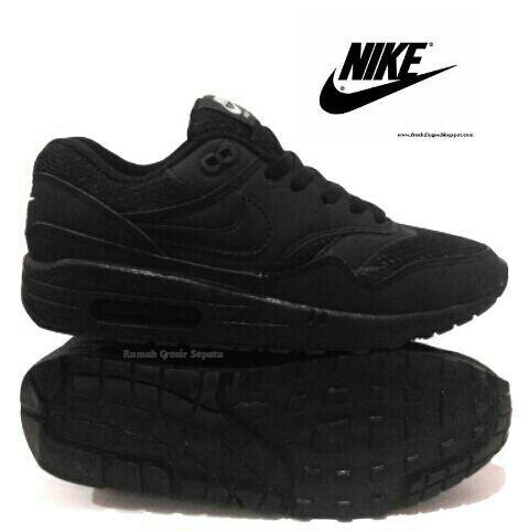 harga Best price sepatu sekolah nike airmax one 1 hitam anak cewek cowok p Tokopedia.com