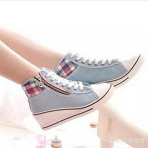 harga Terbatas sepatu sandal wedges boots wanita sdh30 termurah Tokopedia.com