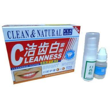 Obat Pemutih Gigi Penghilang Penghancur Karang Gigi Clean   Natural 0093d5a1f3