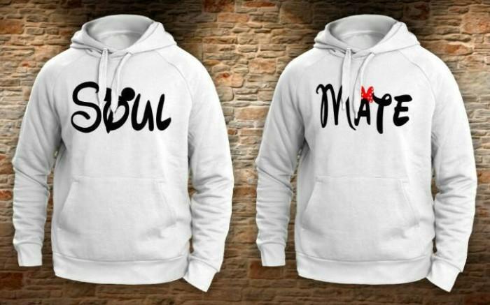 sweater couple soulmate/jaket valentine couple soulmate 2016/hoodie