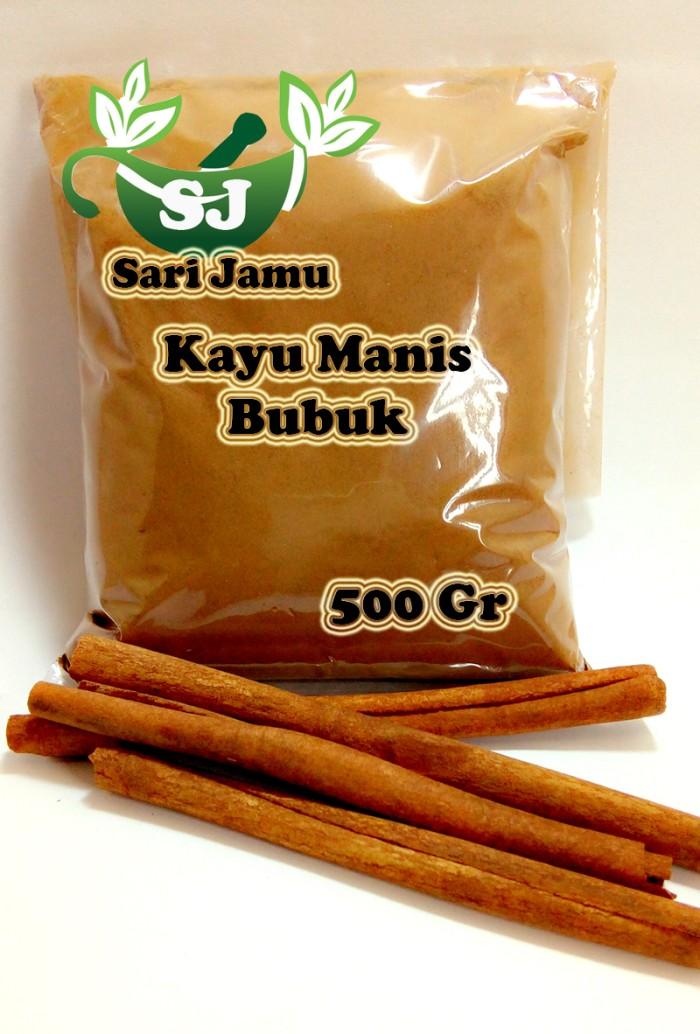harga Jamu herbal tradisional kayu manis bubuk 500 gr asli untuk kolesterol Tokopedia.com