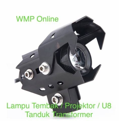 Lampu Tembak Projektor U8 Tanduk Transformer