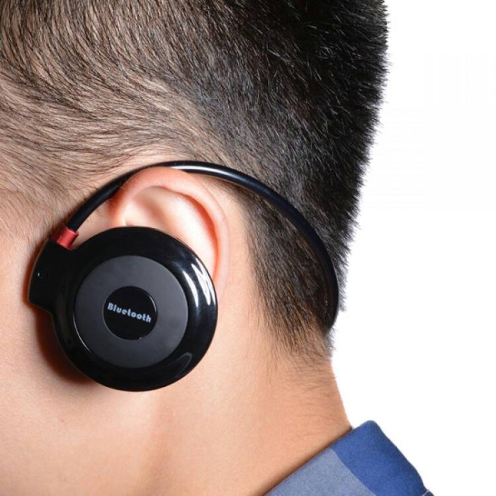 harga Wireless stereo bluetooth sport headset with microphone - mini503 Tokopedia.com