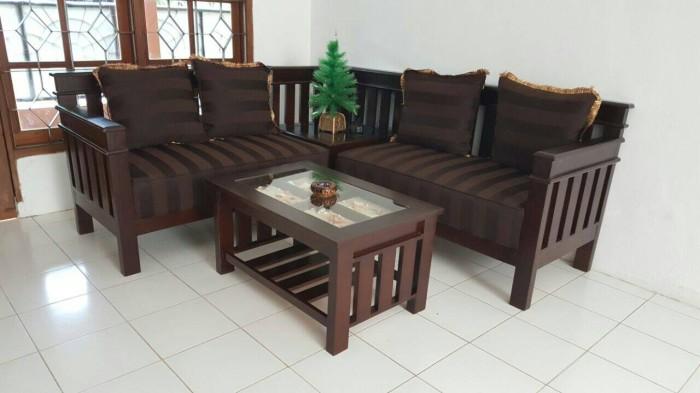 Jual Sofa Jati Minimalis Kab Bogor Bagasfurniture Tokopedia