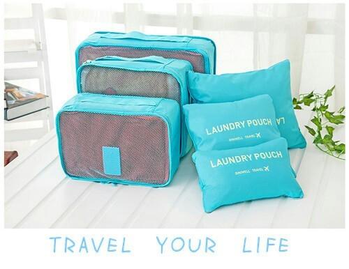 harga Bags in bag organizer travelling bags 6 in 1 a252 Tokopedia.com
