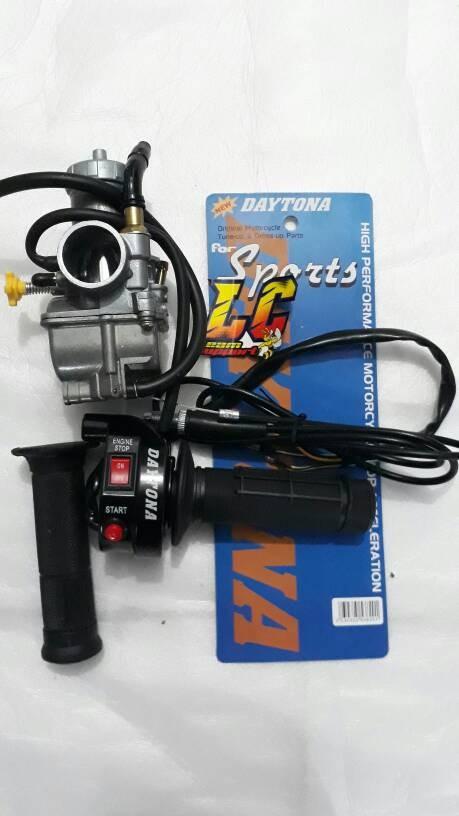 harga Paket karburator keihin pe 28 free gas spontan daytona 2 tombol Tokopedia.com