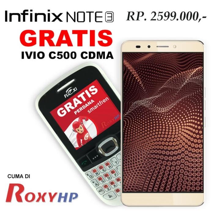 harga Infinix note 3 x601 3/16 resmi - gold Tokopedia.com