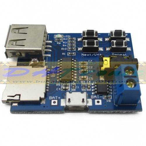 harga Kit decoder mp3 player output to headphone / stereo amplifier Tokopedia.com