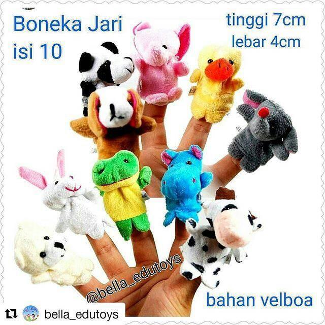 harga Boneka jari hewan 10pcs Tokopedia.com