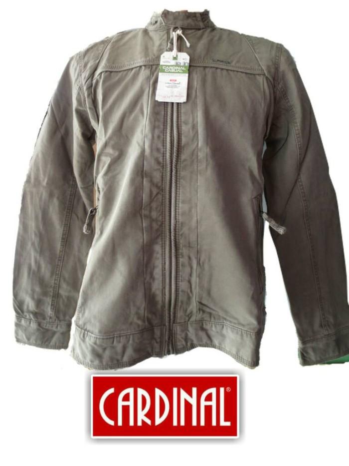 Jual Jaket Cardinal Casual Kerah Shanghai - barkat fashion belilas ... 7b782f3157