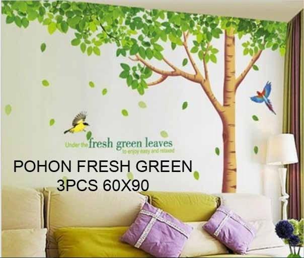jual wall stiker/ stiker tembok / stiker dinding / wallstiker pohon