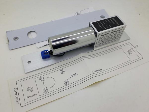 harga Solenoid door lock drop bolt lock for glass door access control Tokopedia.com