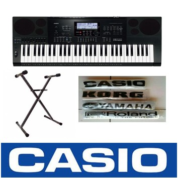 harga Keyboard casio ctk 7200 + stand keyboard + cover casio Tokopedia.com