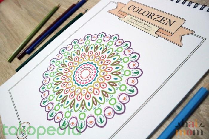 Jual Coloring Book For Adults Mewarnai Dewasa Cek Harga Di Pricearea Com