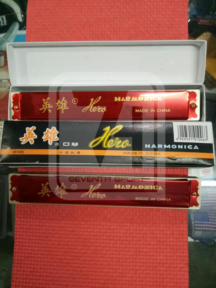 harga Harmonika / harmonica hero ukuran sedang harga murah Tokopedia.com