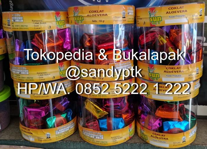 harga Coklat lidah buaya / coklat aloe vera khas pontianak Tokopedia.com