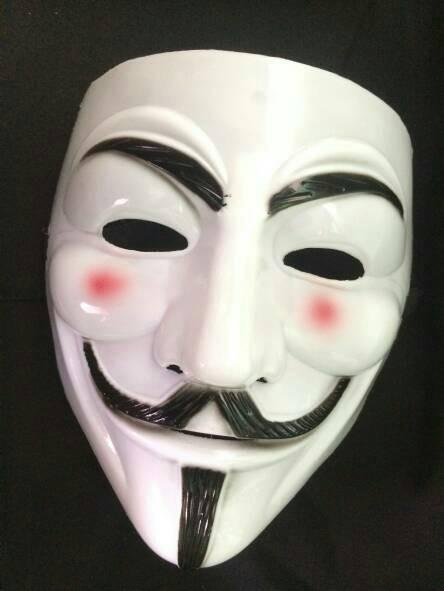 V for vendetta topeng anonymous mask murah
