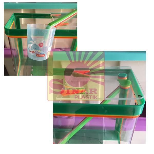 Jual Ready Aquarium Es Kelapa Besar Acrylic Es Buah Plus Gayung