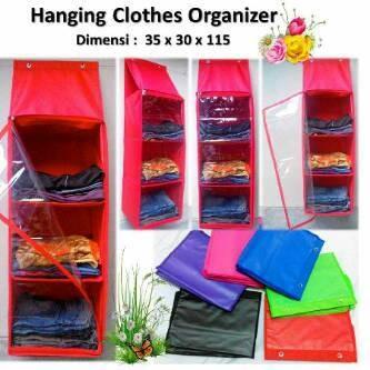 harga Rak baju lemari plastik pakaian gantung serbaguna praktis efisien kuat Tokopedia.com