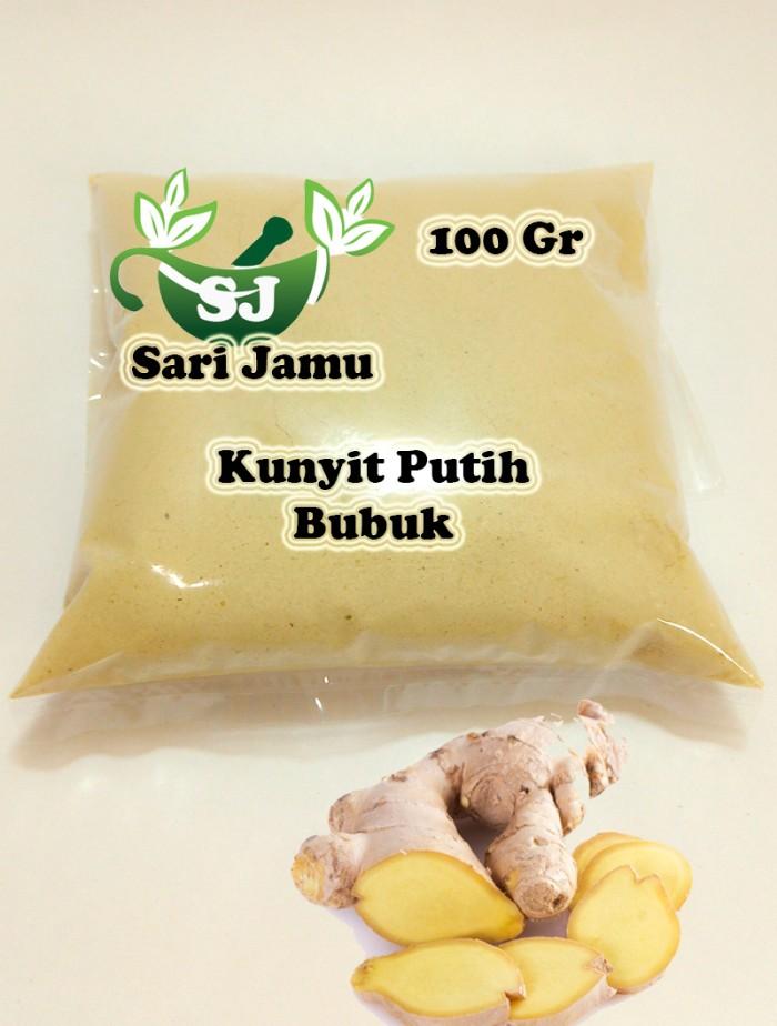 Foto Produk Jamu Herbal Tradisional Kunyit Putih Bubuk 100 Gr untuk kanker dari Sari Jamu