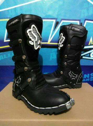 harga Sepatu cross/trail fox mx hitam Tokopedia.com