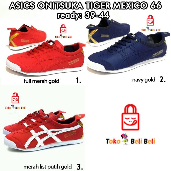 Jual asics onitsuka tiger mexico 66 sepatu sneakers sepatu pria cek ... fa6b814616
