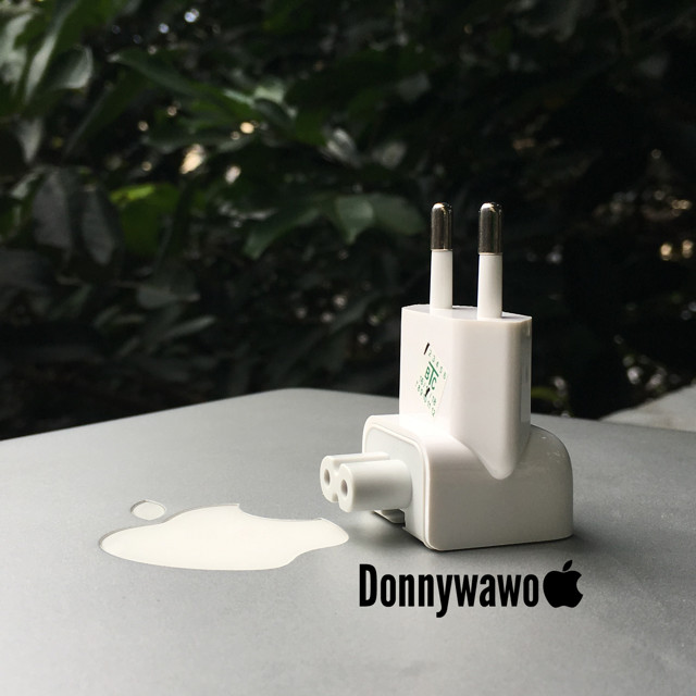 Foto Produk Kepala Charger AC Plug Adaptor Macbook Magsafe Ipad Iphone Apple Ori dari Donnywawoo