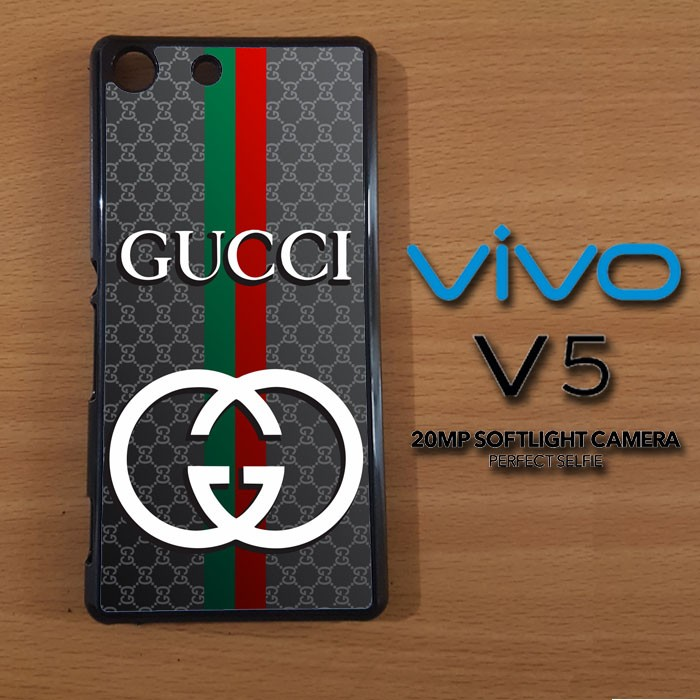 Jual gucci logo X3331 Casing Premium Vivo V5 Custom Hardcase ... 6025219dd4