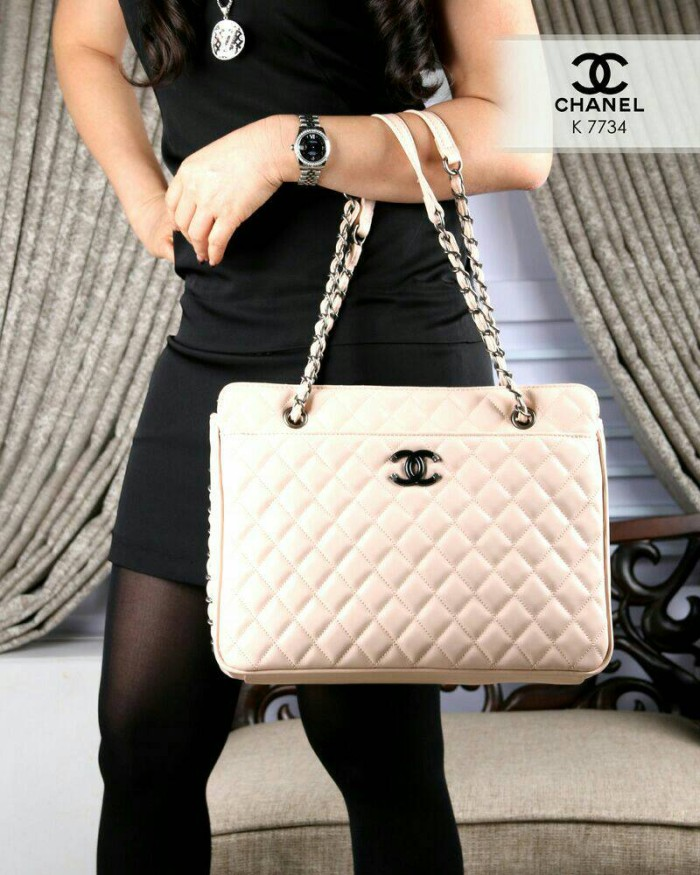 441c3ae9f6a3 Jual CHANEL Ladies Timeless Classic Tote bags Lambskin K 7734 ...