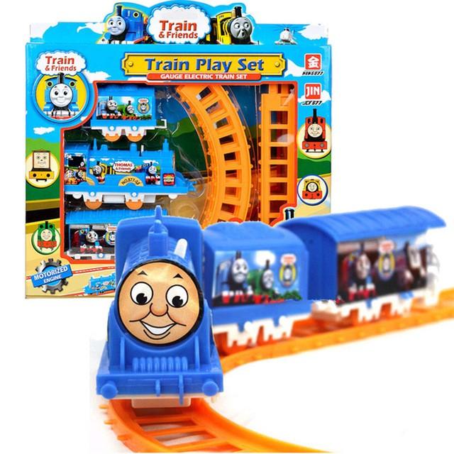 harga Mainan Anak Kereta Api Orbit Train Thomas Set Komplit Tokopedia.com