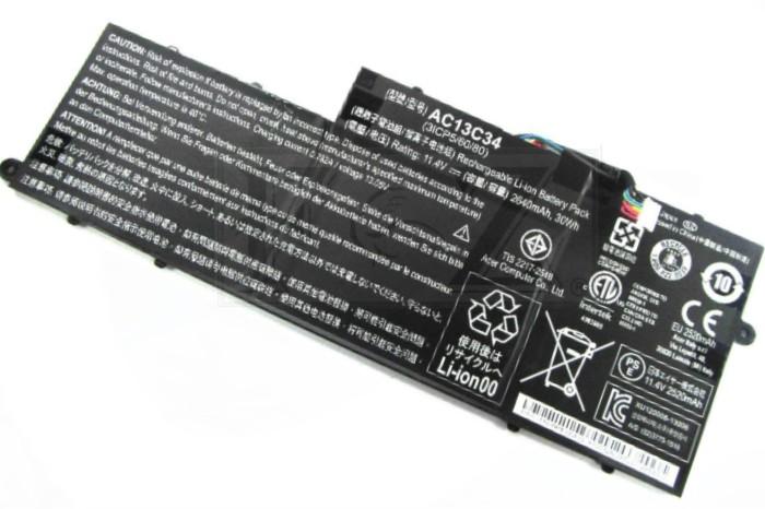 Baterai Acer E3 111 V5 122P 122 132 AC13C34 Original