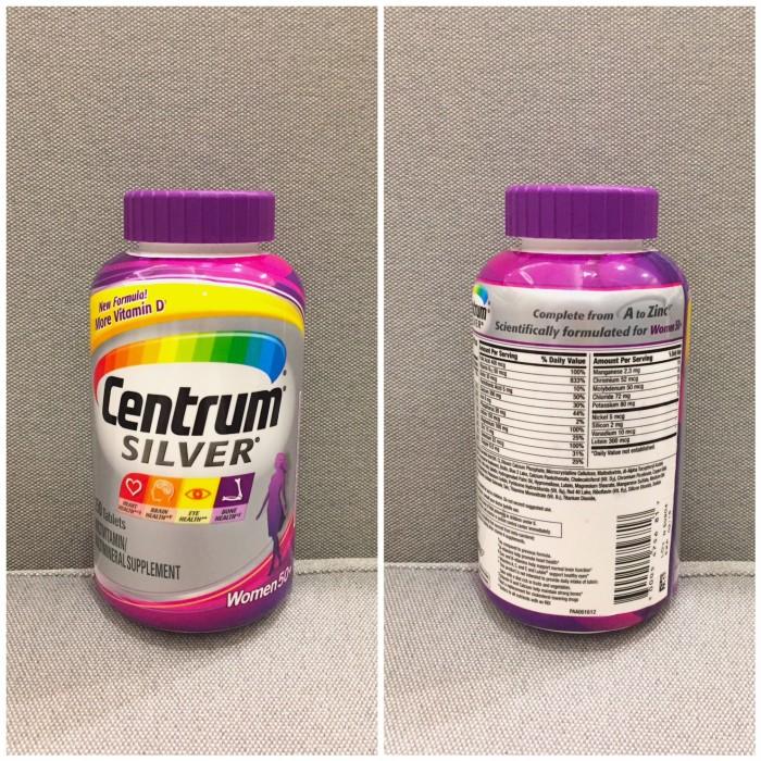 Jual Centrum Silver Women Untuk Dewasa Umur 50 250 Tablets