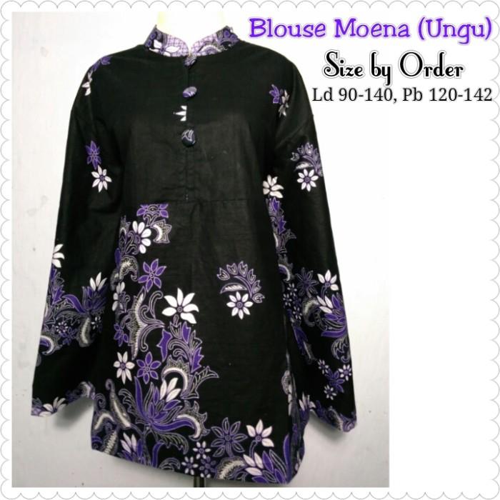 Nataria Brand Blouse Wanita LA 57074 - Hitam. Source · Blouse moena .