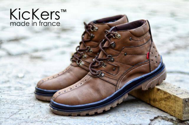 harga Sepatu kickers safety boot pria kerja kantor touring adventure casual Tokopedia.com