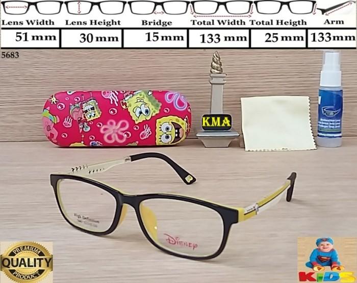 Frame kacamata lensa minus anak anak kids elastis flexible DISNEY 561 bde18989a0
