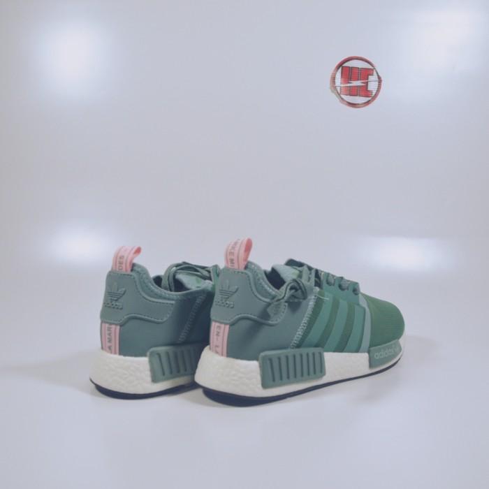 032ae0868 Jual Adidas NMD Runner Steel Vapour Green Pink