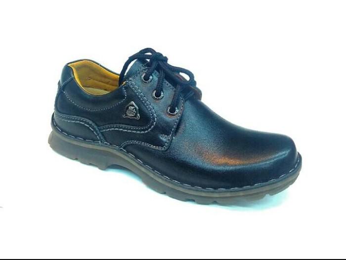 harga Sepatu kulit (gats un 02) black Tokopedia.com