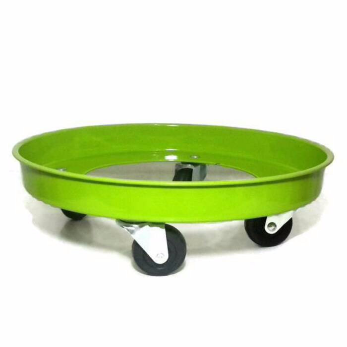 Tatakan tabung gas roda (besi) kenmaster .