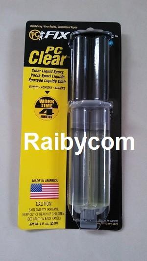 Foto Produk Lem PC11 Clear Epoxy USA dari Raibycom