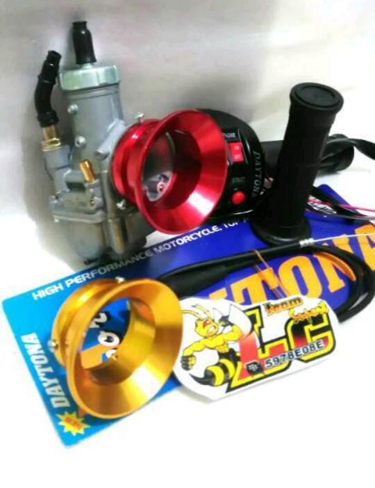 harga Paket karburator pe 28 free gas spontan 2 tombol dan velocity Tokopedia.com