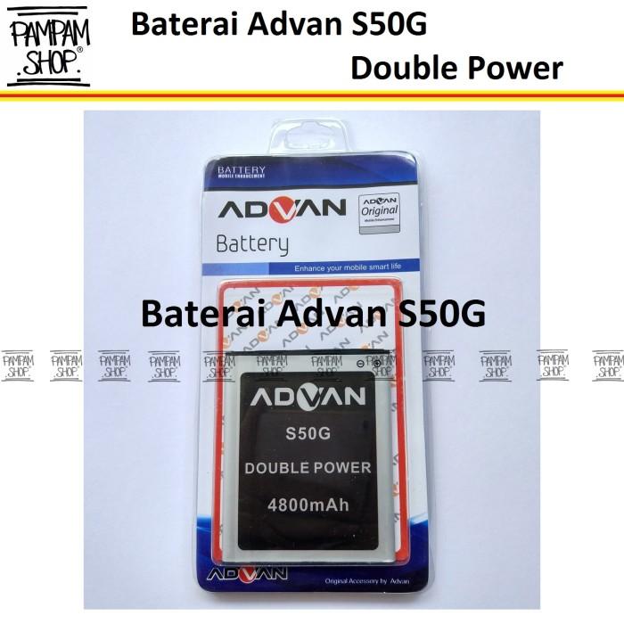 harga Baterai handphone advan s50g original double power | batre batrai hp