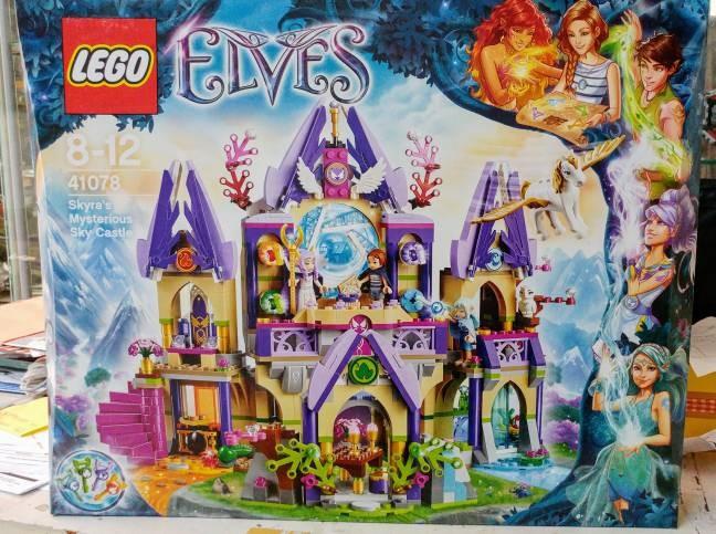 harga 41078 lego elves skyra's mysterious sky castle Tokopedia.com