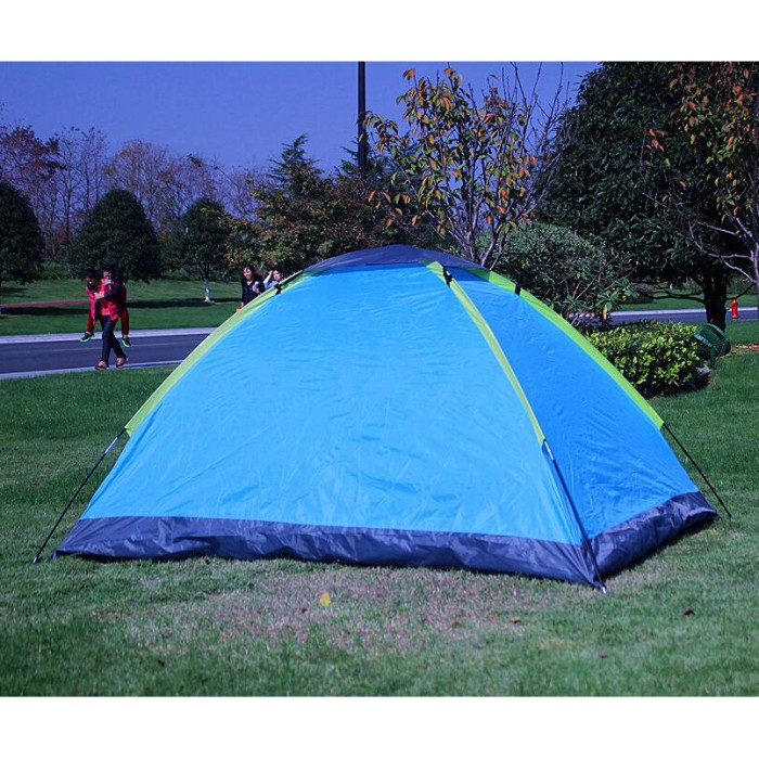 Foto Produk unik lucu Double Layer Door Camping Tent / Tenda Camping lucu dari toko ardiyanto