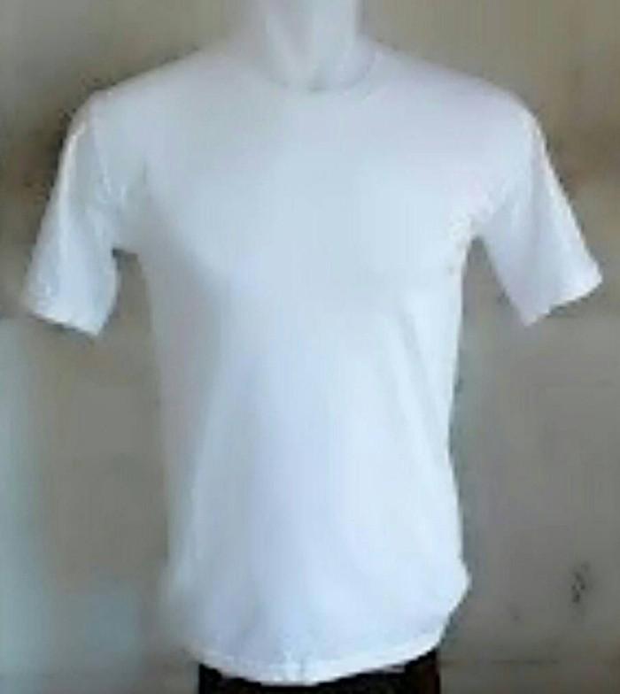 Jual Kaos Putih Polos Oblong Baju Gambar