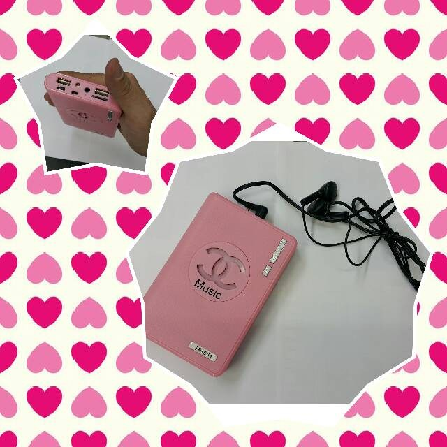 harga Mp3 player dompet + bisa power bank Tokopedia.com