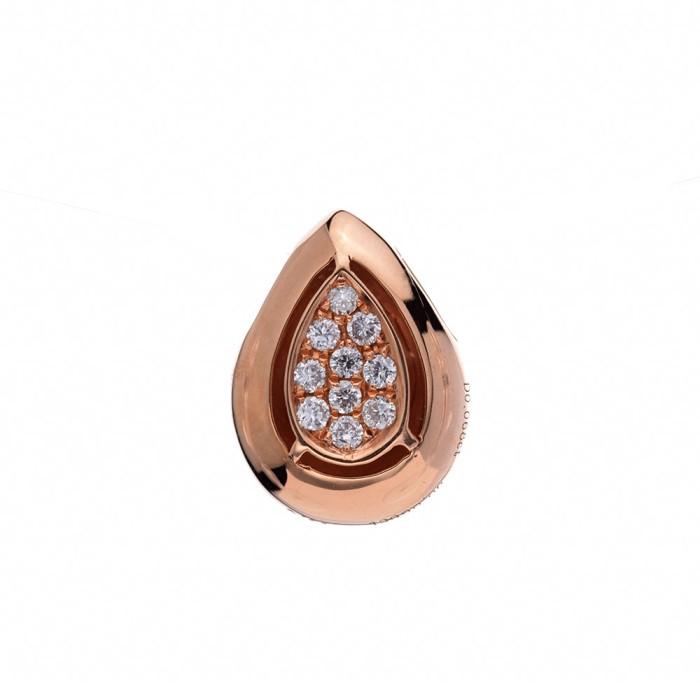 Tiaria droplet of light pendant liontin emas berlian