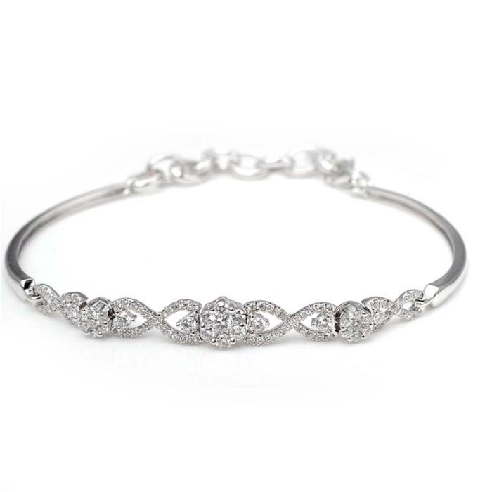 Tiaria dhtxhsl001 perhiasan gelang emas berlian