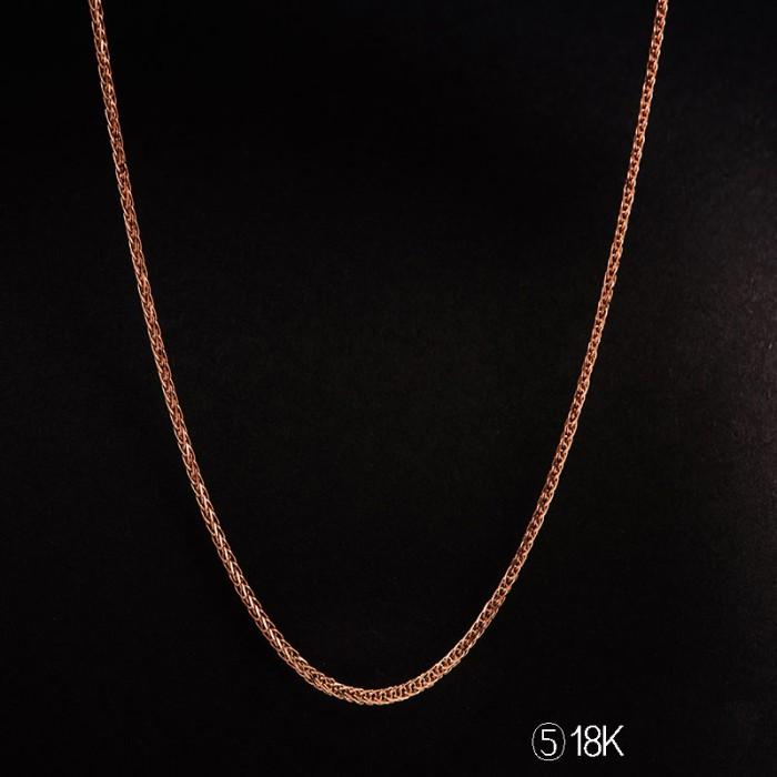 Tiaria tiaria 18k gold necklace top design 25d5 kalung emas wanita