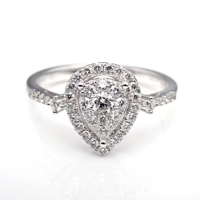 Tiaria dhtxhjz031 cincin tunangan emas berlian