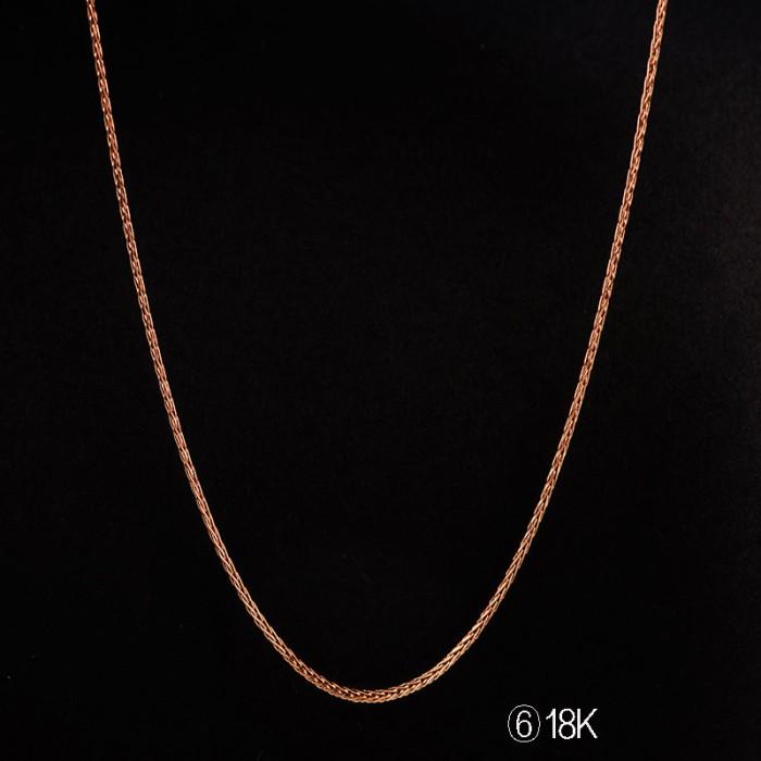 Tiaria tiaria 18k gold necklace top design 25d6 kalung emas wanita